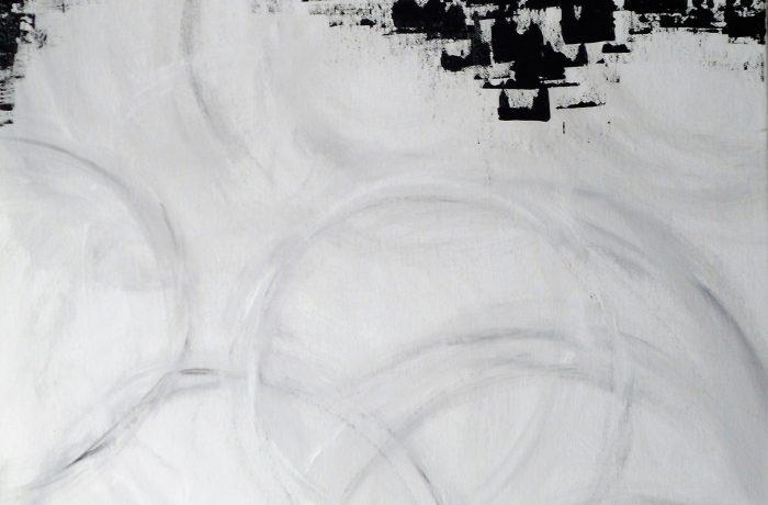 Luftschloss,  Acryl auf Keilrahmen 50 x 60 cm