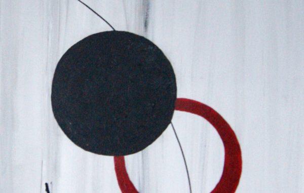Auf Überholspur, Acryl auf Keilrahmen 100 x 50 cm