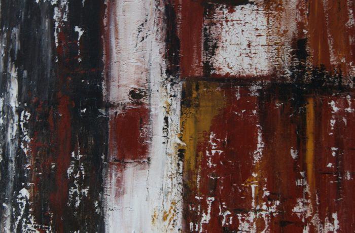 Modern Art, Acryl auf Keilrahmen 70 x 70 cm
