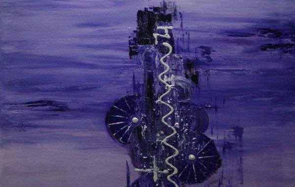 Im Gleichklang, Acryl auf Keilrahmen 80 x 60 cm