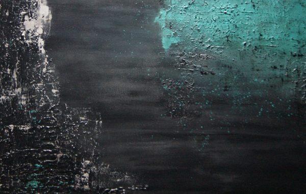 Universum, Acryl auf Keilrahmen 70 x 70 cm