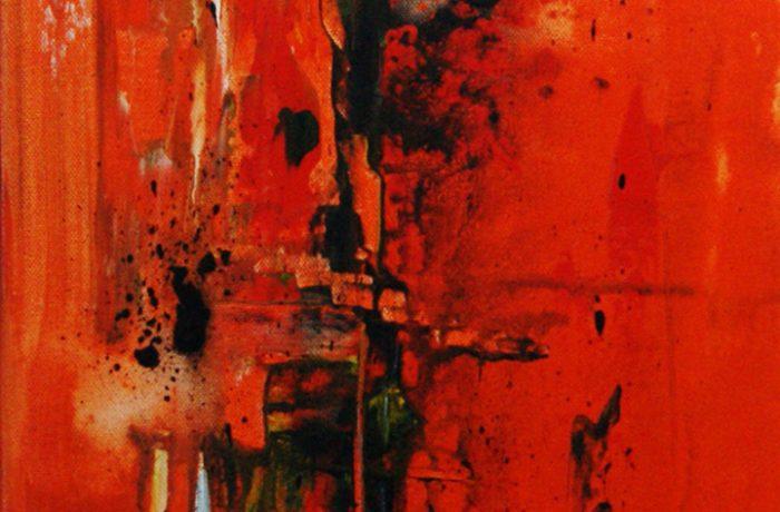Emotion, Acryl auf Keilrahmen 30 x 80 cm