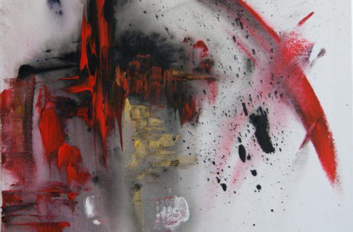 Energie, Acryl auf Keilrahmen 50 x 50 cm