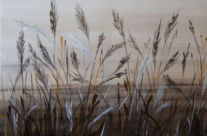 Im Hauch des Abendwindes, Acryl auf Keilrahmen 80 x 60 cm