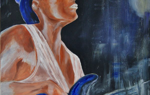 Hot Music, Acryl auf Keilrahmen 60 x 80 cm