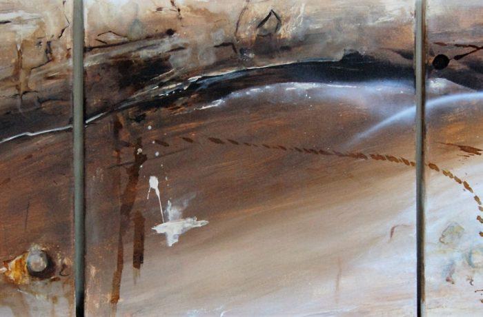 Festival of Painting, Acryl auf Keilrahmen 3 x 40 x 40 cm