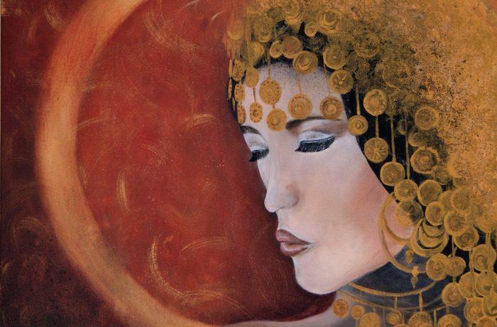 dream or reality, Acryl auf Keilrahmen 70 x 70 cm