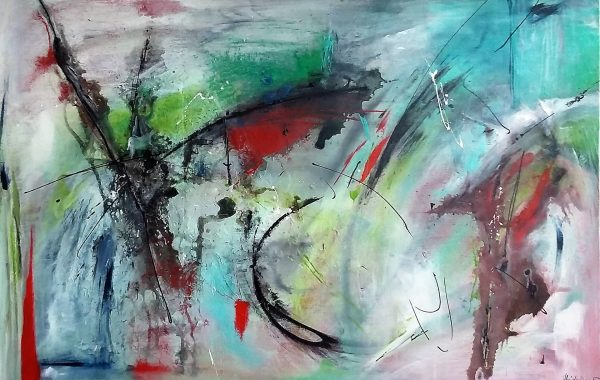 Aufbruch, Acryl auf Keilrahmen 120 x 80 cm