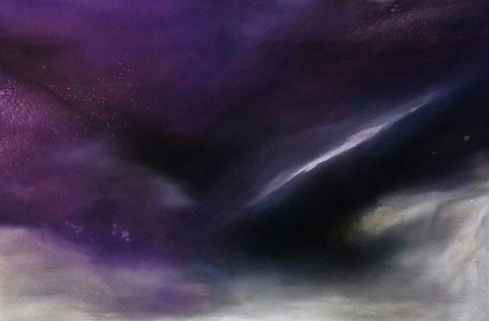 Melancholie, Acryl auf Keilrahmen  90 x 70 cm