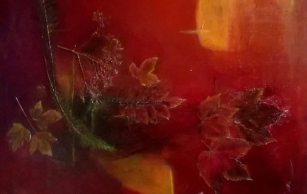 Herbstimpressionen, Acryl auf Keilrahmen 60 x 80 cm