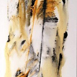 Abstrakt, Acryl auf Keilrahmen 30 x 100 cm