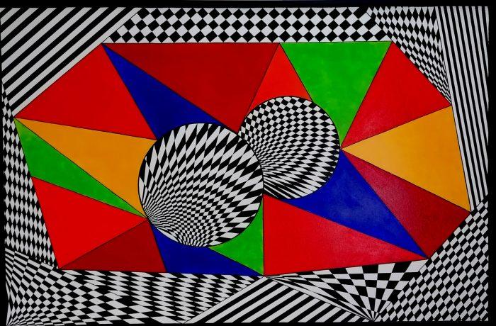 """""""Grenzenlose Freiheit"""", Acryl auf Keilrahmen 118 x 78 cm"""